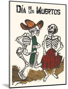 Mexico - Dia de los Muertos (Day of the Dead) - Dancing Skeletons by Jose Guadalupe Posada