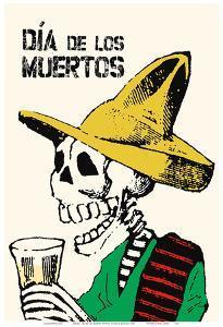 Mexico - Dia De los Muertos (Day of the Dead) Festival by Jose Guadalupe Posada