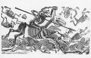 Posada: Don Quijote by Jose Guadalupe Posada