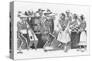 Posada: Happy Dance by Jose Guadalupe Posada
