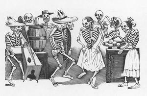 Posada: Happy Dance by Jose Guadalupe Posada