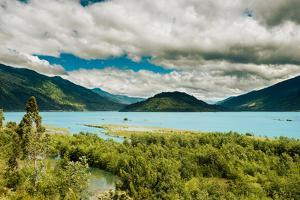 View of the Reloncavi Estuary, Chile by Jose Luis Stephens
