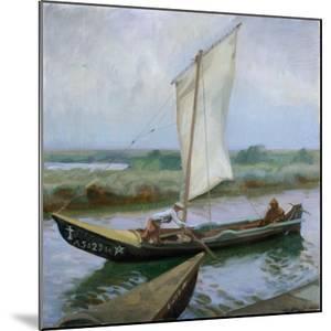 Portuguese River Boat Carcadeira by Jose Maria Lopez Mezquita