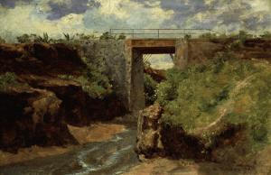 The Copper Canyon in Chihnahua, Baranca Del Cobre en Chihnahua, 1899 by Jose Velasco