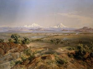 View of Mexico valley, 1901 by Jose Velasco
