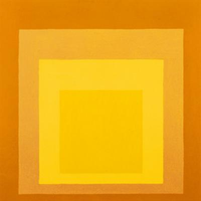 Homage To The Square by Josef Albers