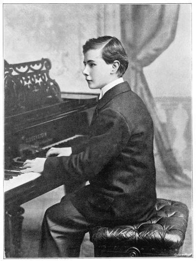 Josef Hofmann Polish Musician--Photographic Print