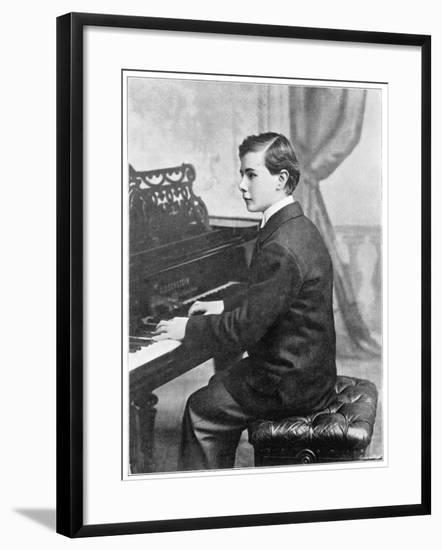 Josef Hofmann Polish Musician--Framed Photographic Print