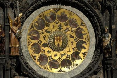 The Prague Astronomical Clock, the Calendar