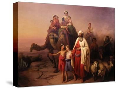 The Departure of Abraham, 1850