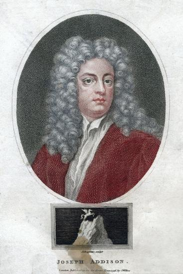 Joseph Addison, English Politician and Writer, 1796-J Chapman-Giclee Print