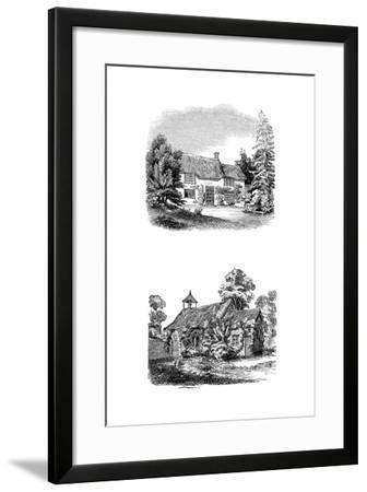 Joseph Addison's Birthplace at Milston Near Amesbury, Wiltshire--Framed Giclee Print