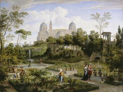 Santa Maria Maggiore in Rom. Um 1808