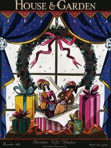 House & Garden Cover - December 1923 by Joseph B. Platt