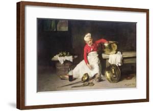 Kitchen-Boy, 1893 by Joseph Bail