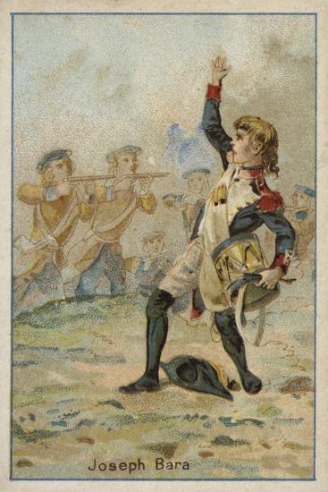 Joseph Bara, French Revolutionary Boy Soldier--Giclee Print
