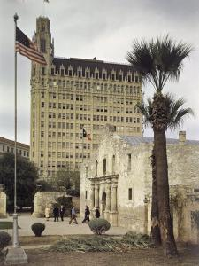 Alamo, Formerly a Spanish Mission, Was Attacked by Mexico in 1836 by Joseph Baylor Roberts