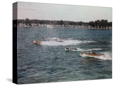 Speedboats Race on the Potomac in the 1936 President's Cup Regatta