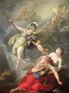 Battle Between Minerva and Mars, 1771 by Joseph Benoit Suvee