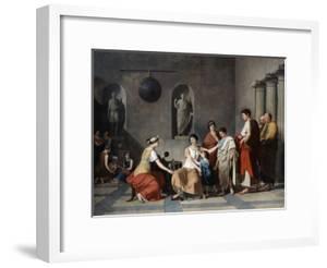 The Mother of the Gracchi, C1780 by Joseph Benoit Suvee