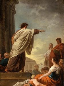The Predication of Saint Paul, c.1779 by Joseph Benoit Suvee