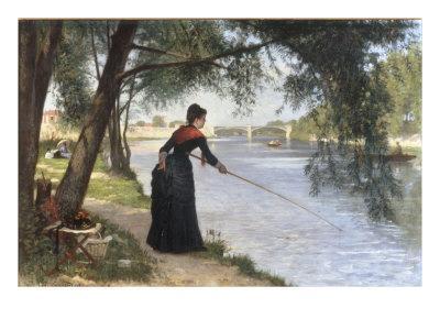 La Pecheuse, 1884