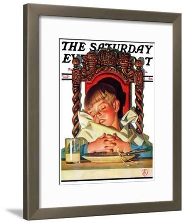 """After Turkey Nap,"" Saturday Evening Post Cover, November 26, 1938"