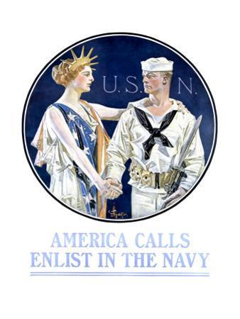 America Calls, Enlist in the Navy