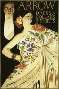 Arrow Dress Collars and Shirts by Joseph Christian Leyendecker