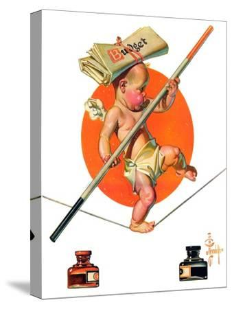 """Baby New Year Balances the Budget,""January 5, 1935"