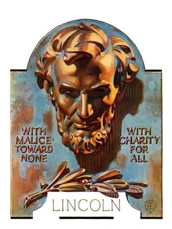 """Bronze Lincoln,""February 12, 1938"