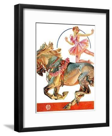 """""""Circus Bareback Rider,""""May 14, 1932"""