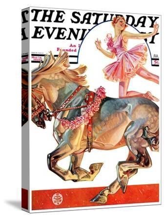 """""""Circus Bareback Rider,"""" Saturday Evening Post Cover, May 14, 1932"""