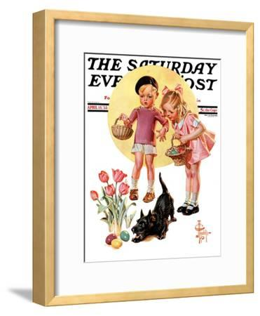 """Easter Egg Hunt,"" Saturday Evening Post Cover, April 15, 1933"