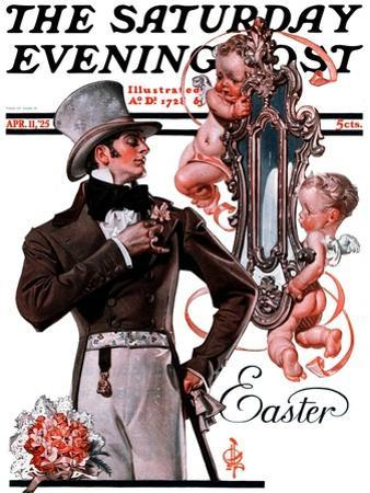 """Easter Finery,"" Saturday Evening Post Cover, April 11, 1925"
