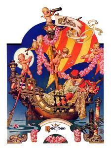"""Fantasy Honeymoon,""June 20, 1936 by Joseph Christian Leyendecker"