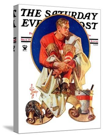 """Football Hero,"" Saturday Evening Post Cover, November 4, 1933"