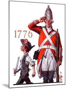 """Fourth of July, 1776,""June 30, 1923 by Joseph Christian Leyendecker"