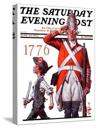 """Fourth of July, 1776,"" Saturday Evening Post Cover, June 30, 1923"
