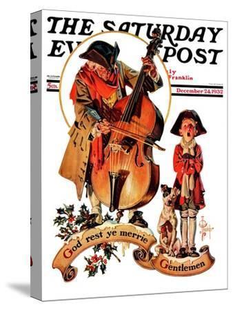 """God Rest Ye Merrie Gentlemen,"" Saturday Evening Post Cover, December 24, 1932"