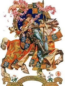 """Knight in Shining Armor,""July 17, 1926 by Joseph Christian Leyendecker"