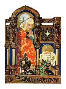 """Madonna and Child,""December 22, 1928 by Joseph Christian Leyendecker"