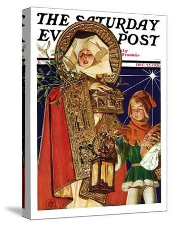 """""""Medieval Merry Christmas,"""" Saturday Evening Post Cover, December 25, 1926"""