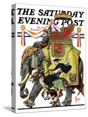 """Political Party Symbols,"" Saturday Evening Post Cover, October 17, 1936"
