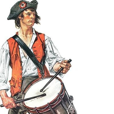"""""""Re-print of """"Colonial Drummer"""","""" July/Aug 1976"""