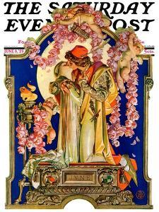 """Romeo and Juliet,"" Saturday Evening Post Cover, June 8, 1929 by Joseph Christian Leyendecker"