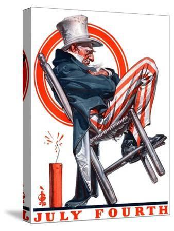 """Sleeping Uncle Sam,""July 5, 1924"