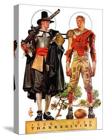 """Thanksgiving, 1628/1928,""November 24, 1928"