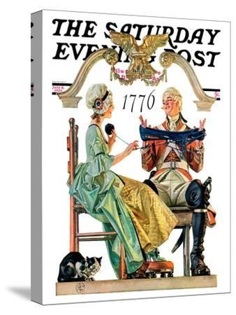 """Truce,"" Saturday Evening Post Cover, July 4, 1931"