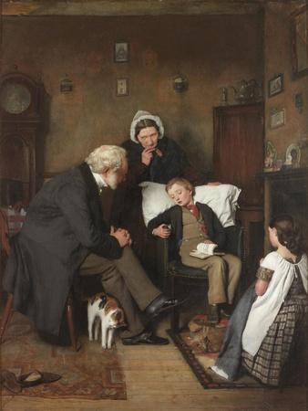 The Sick Boy, C.1857
